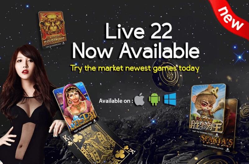 Live22 Online Casino Singapore Best In 2018 Singapore